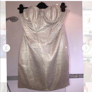 House of cb glitter dress